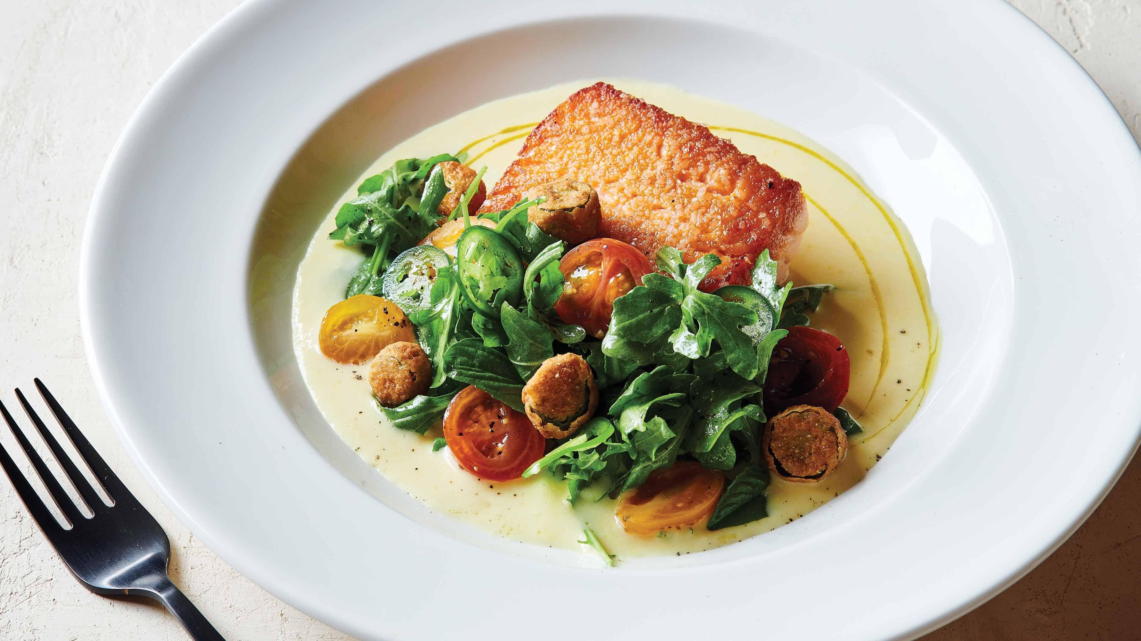 pan seared salmon recipe.