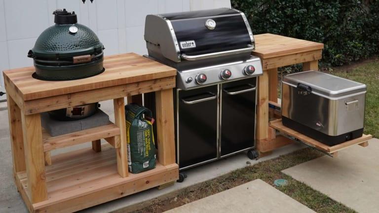 How to Build an Outdoor Kitchen Island | Exmark's Backyard ...