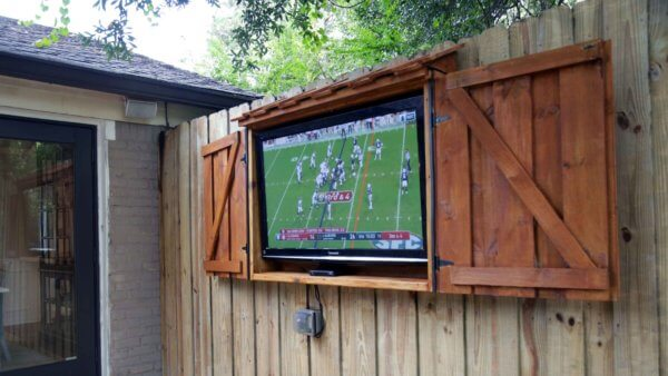 Build and Outdoor TV Cabinet