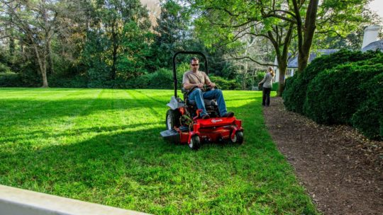Spring lawncare