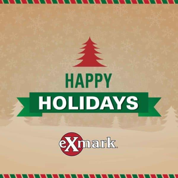 Happy Holidays from Exmark and The Backyard Life Ambassadors