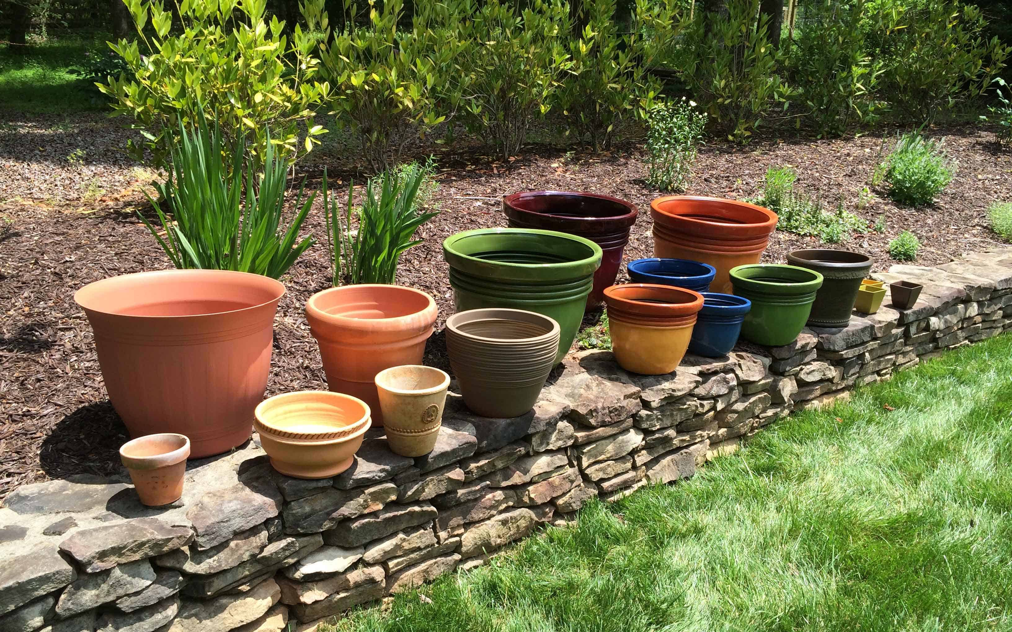 Containers for gardening