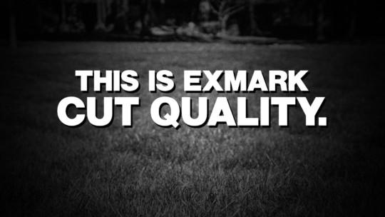Exmark cut quality