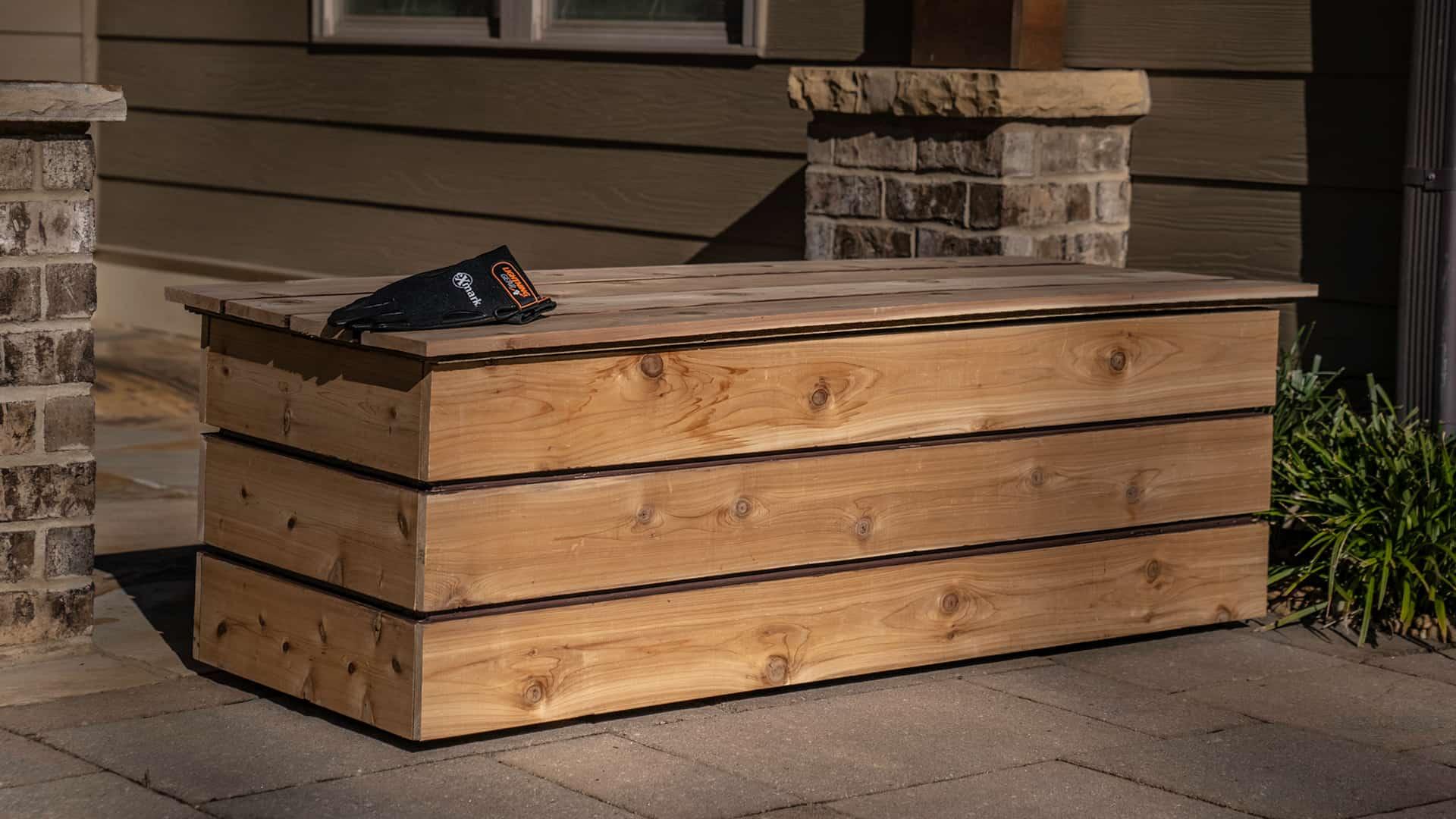 Storage Bench Build
