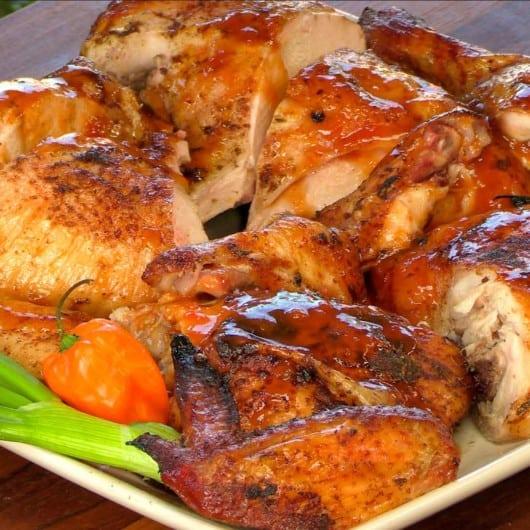 Greg Mrvich's Grilled Jamaican Jerk Chicken Recipe