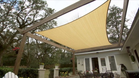 Easy Shade Structure Build