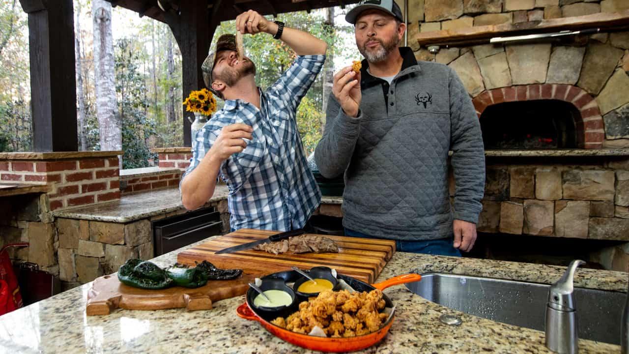 Michael Waddell Wild Turkey Nugget Dish