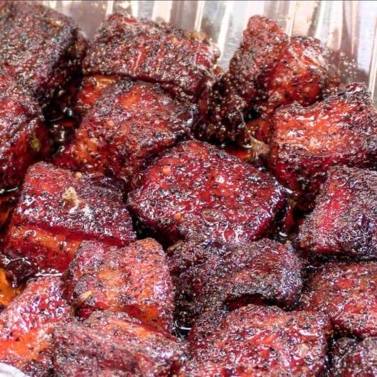 Pork Belly Burnt Ends (Sliders)